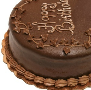 Chocolate Birthday Cake Is Not Gluten Free