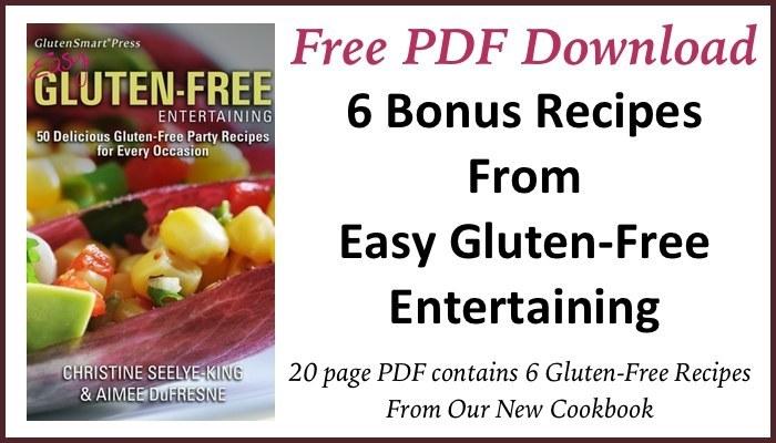 Bonus PDF from Easy Gluten-Free Entertaining